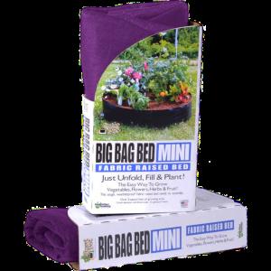 BoutiqueHortiplan.ca | Smart Pots Big Bag Bed Mini Jardinière surélevée en tissu  – Mauve